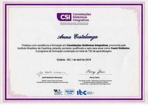 Certificado CSI